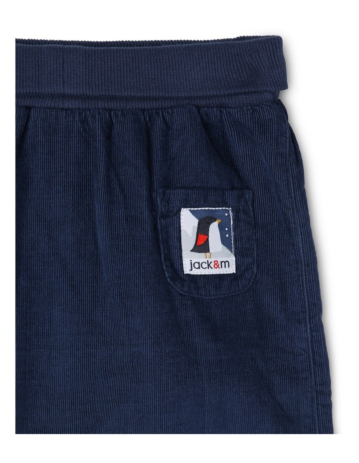 Kit Babycord Woven Pant With Rolled Rib Waist image 2