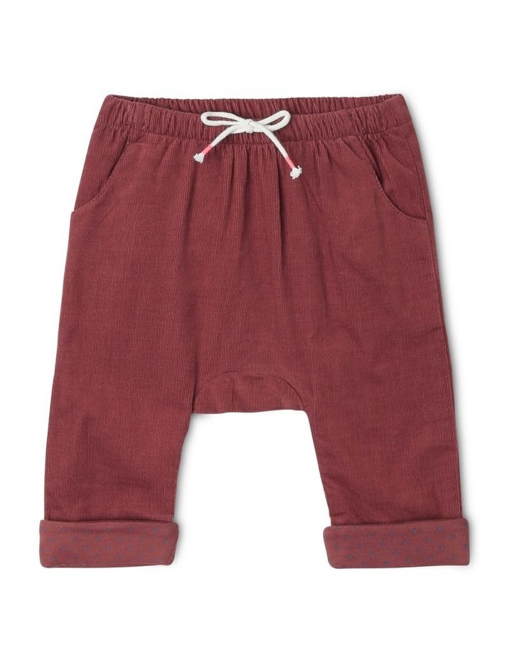 Charlie Corduroy Pant with Spot Lining image 1