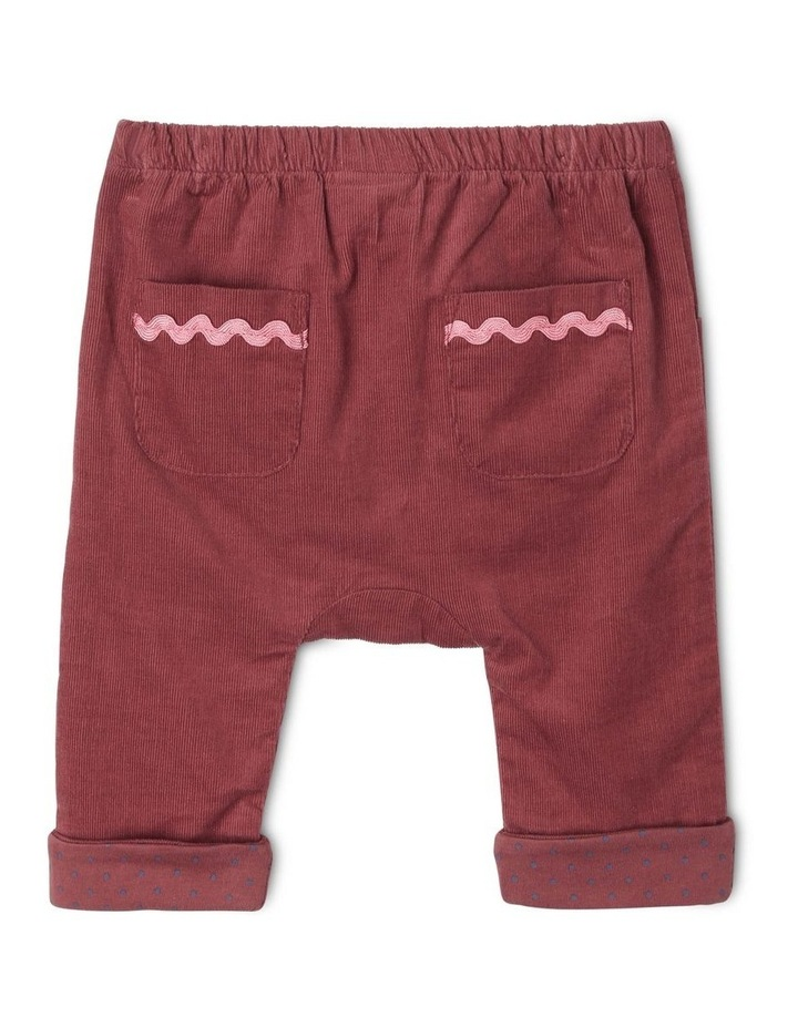 Charlie Corduroy Pant with Spot Lining image 2
