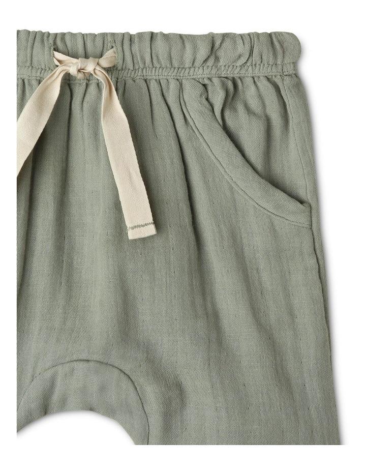 Organic Muslin Harem Pants image 2