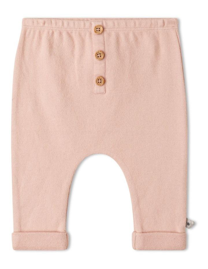 Naturals Organic Rib Legging Dusty Pink image 1