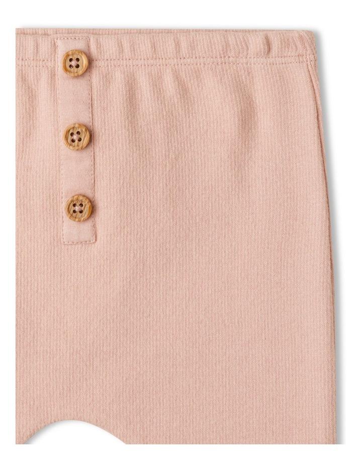Naturals Organic Rib Legging Dusty Pink image 2