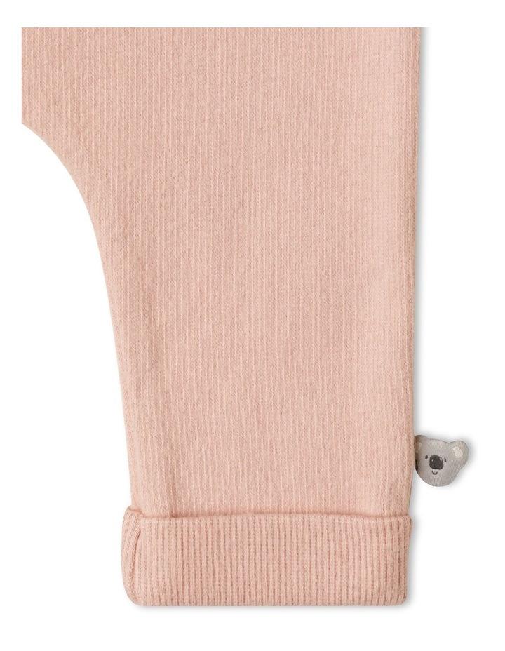 Naturals Organic Rib Legging Dusty Pink image 3
