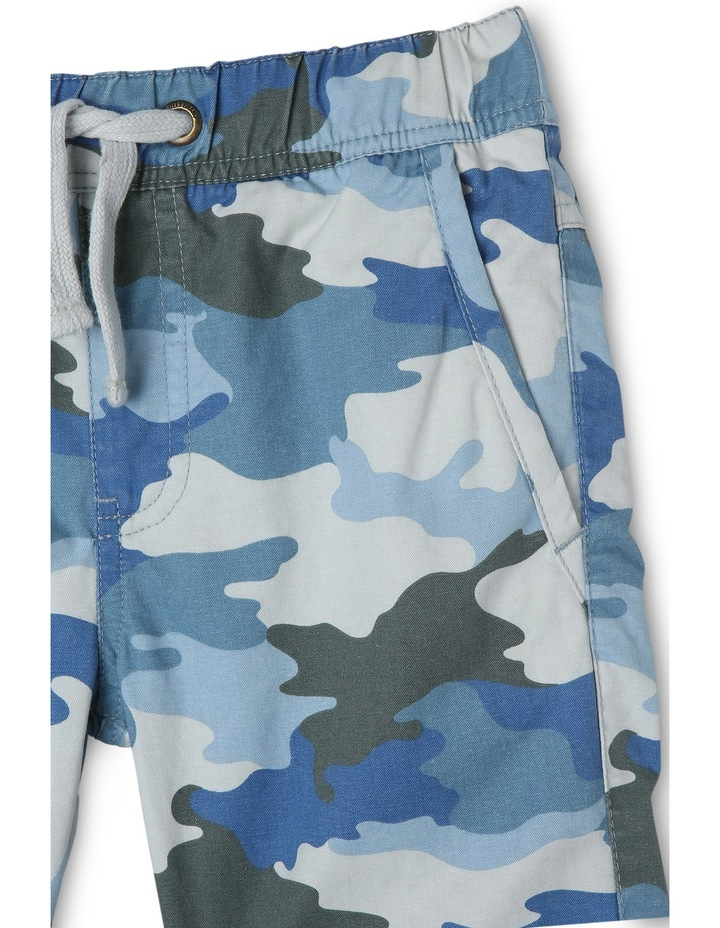 Josh Elastic Waist Printed Shorts With Rolled Cuff image 2