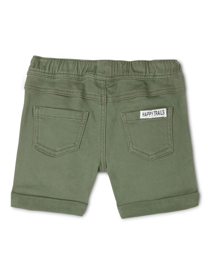 Ed Knit Denim Short With Side Stripe Tape JBS19000-CW1 image 2
