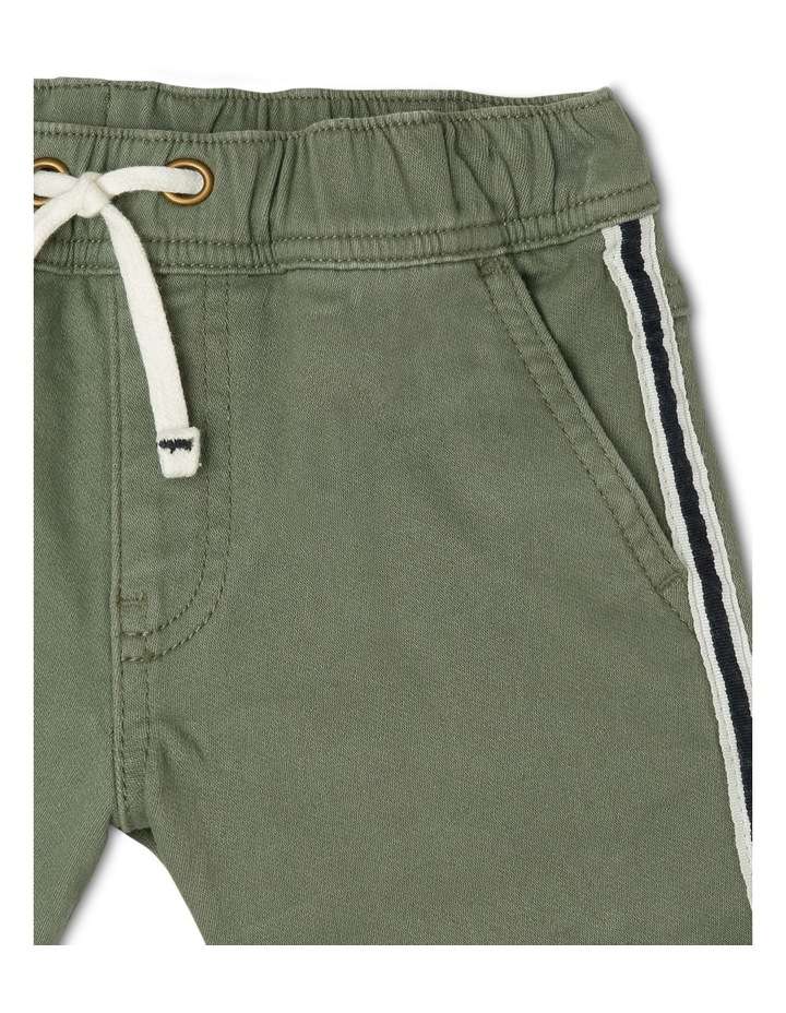 Ed Knit Denim Short With Side Stripe Tape JBS19000-CW1 image 3