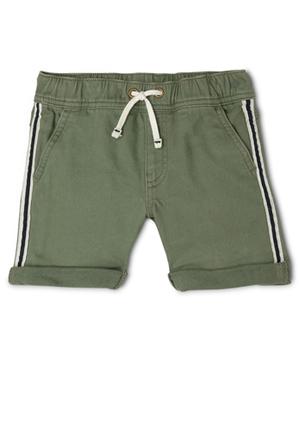 Jack & Milly - Ed Knit Denim Short With Side Stripe Tape JBS19000-CW1