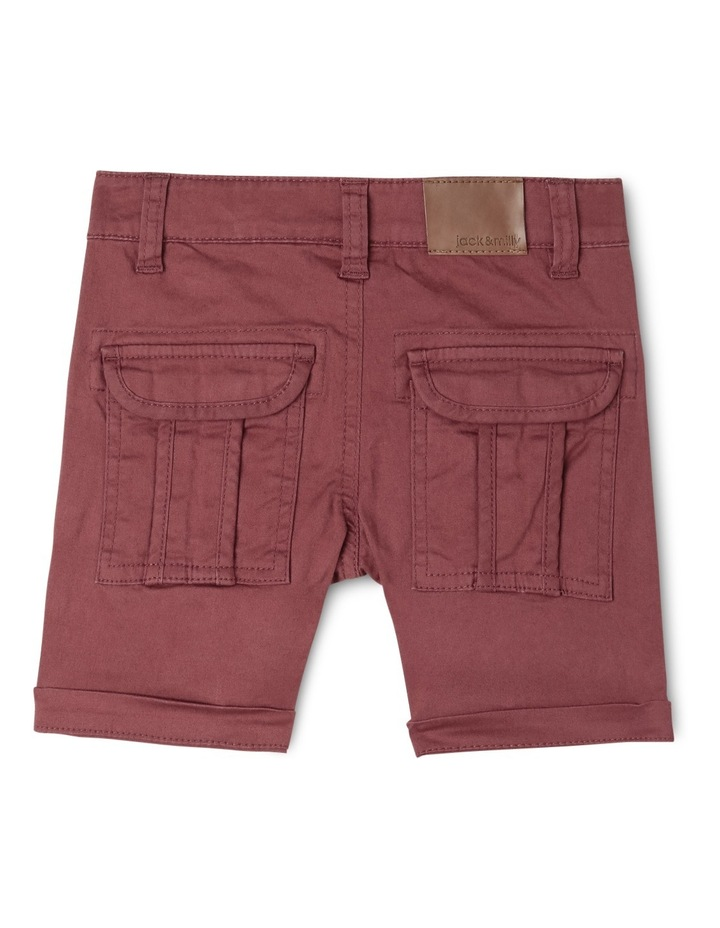 Ace Twill Short With Cargo Pockets image 2