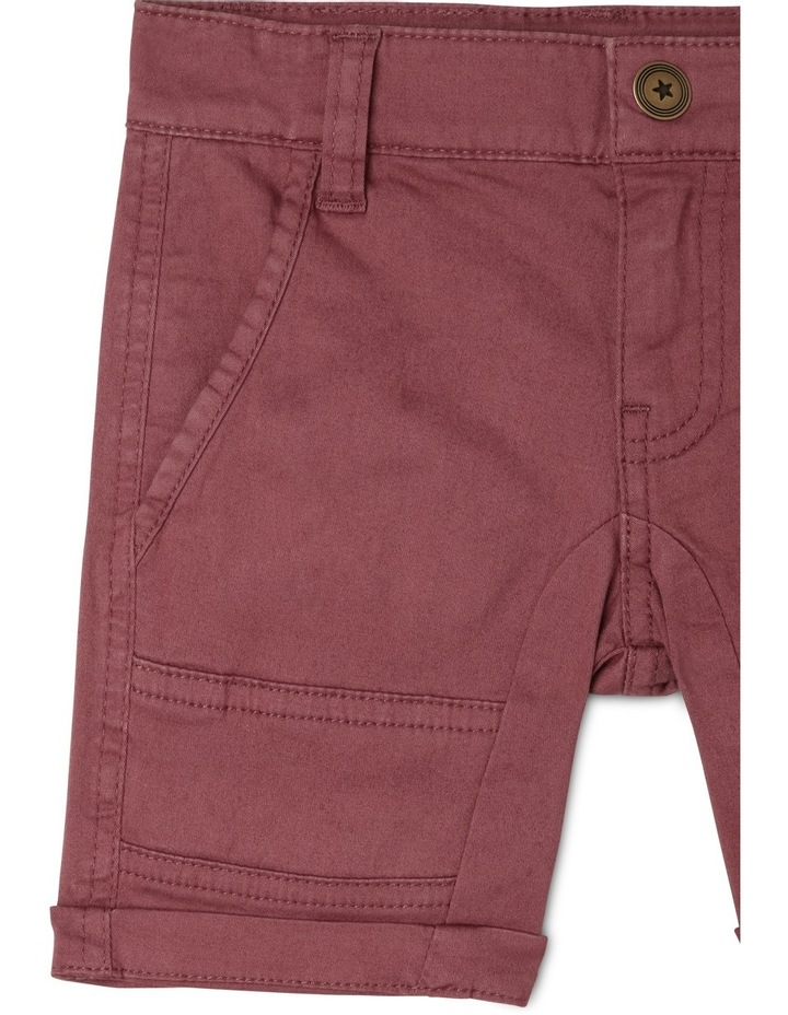 Ace Twill Short With Cargo Pockets image 3