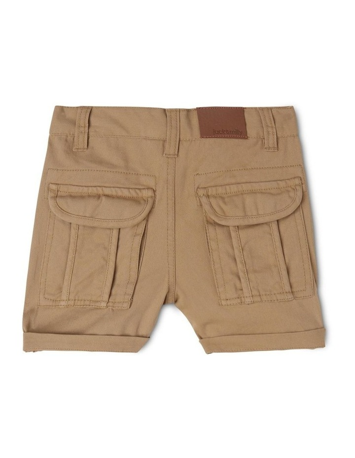 Ace Twill Short with Back Cargo Pockets image 2