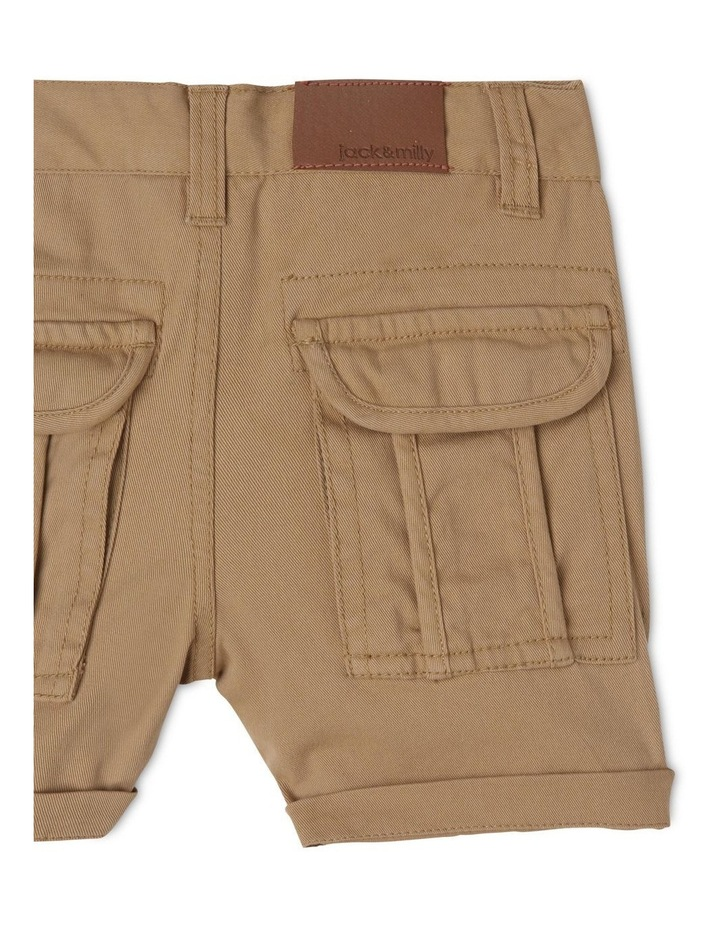 Ace Twill Short with Back Cargo Pockets image 4