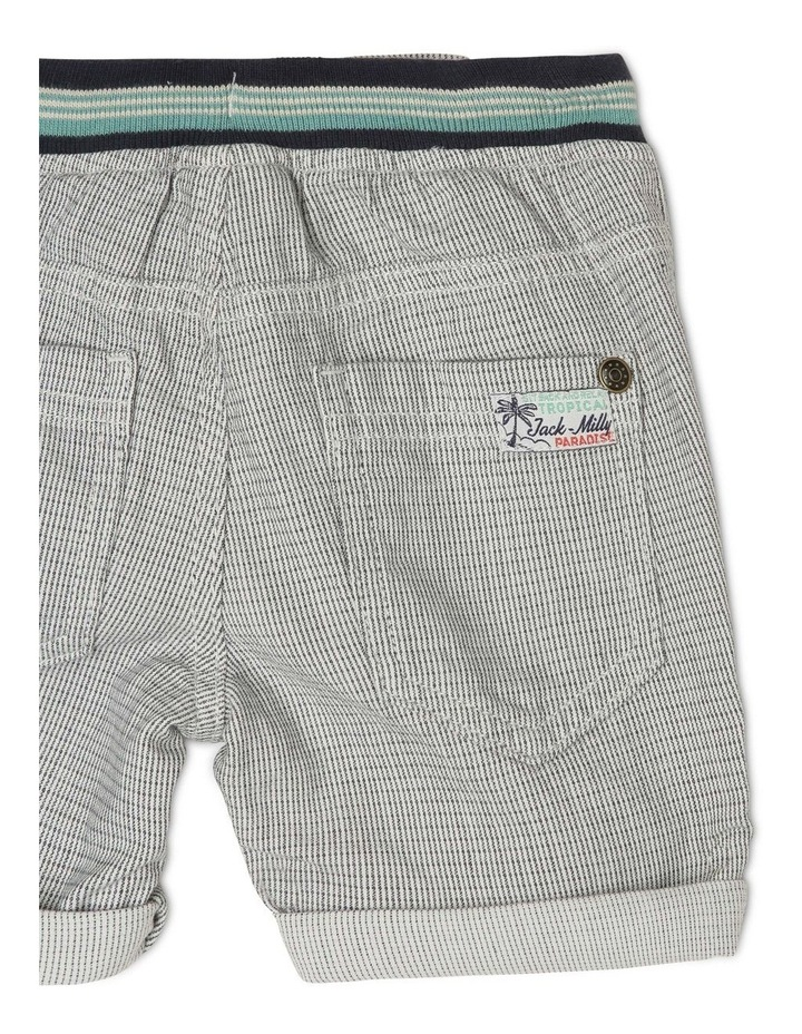 Vincent Textured Woven Shorts image 4