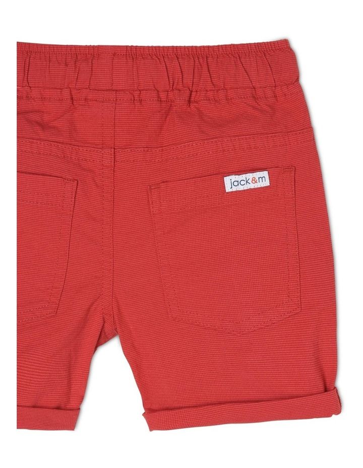 Tim Textured Woven Shorts image 4