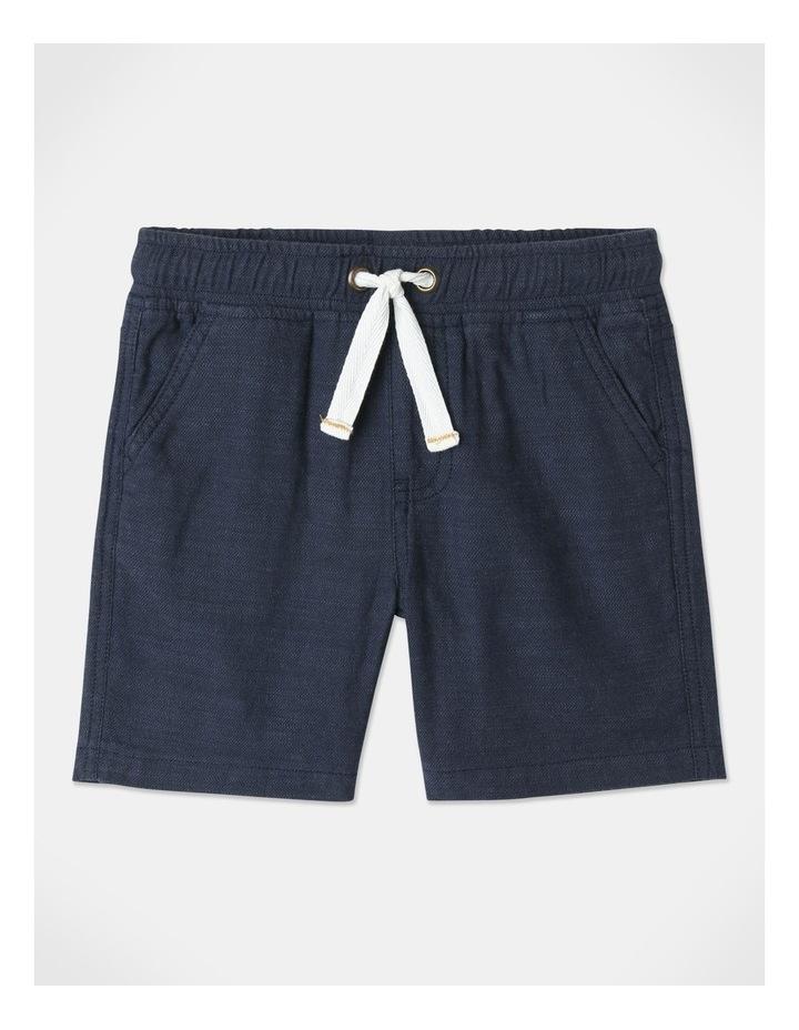 Mack Textured Woven Shorts Blue image 1