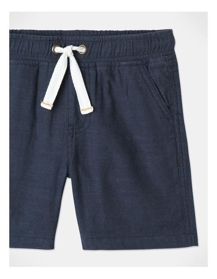 Mack Textured Woven Shorts Blue image 2