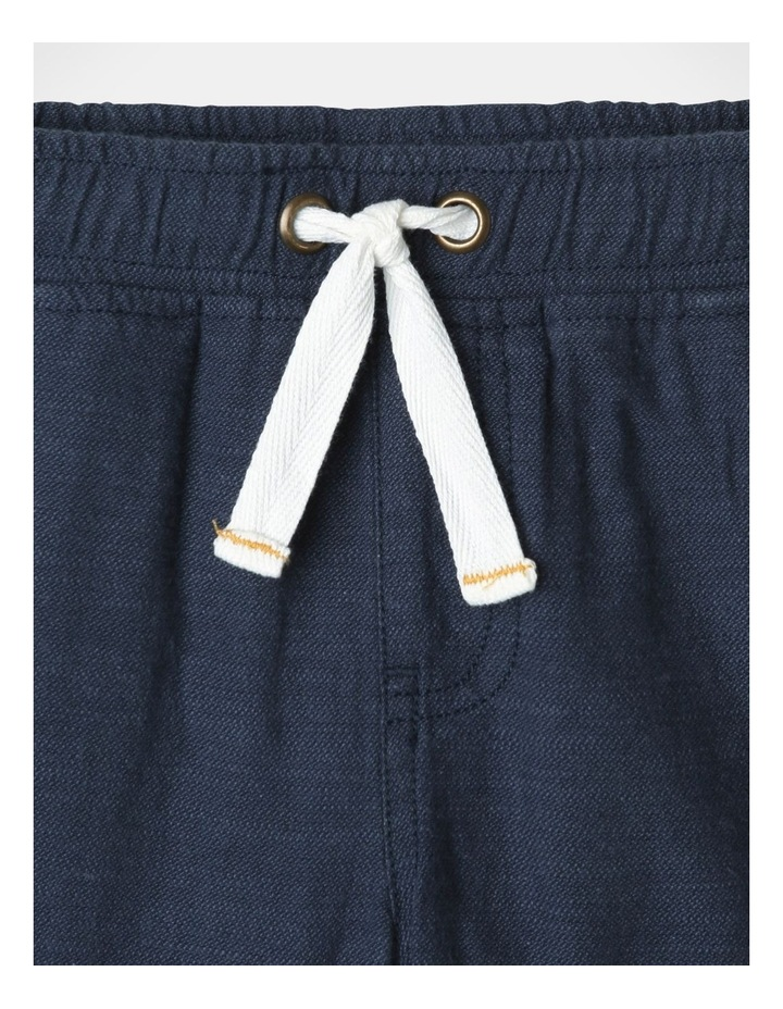 Mack Textured Woven Shorts Blue image 3