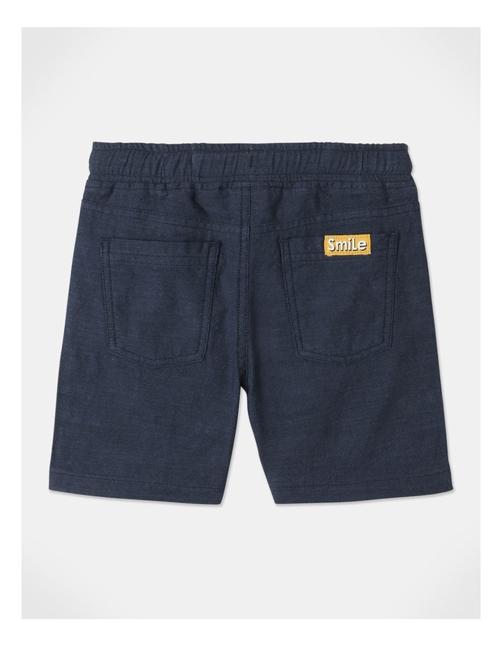 Mack Textured Woven Shorts Blue image 4