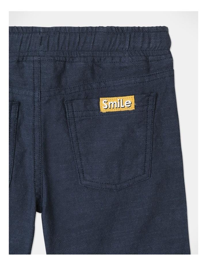 Mack Textured Woven Shorts Blue image 5