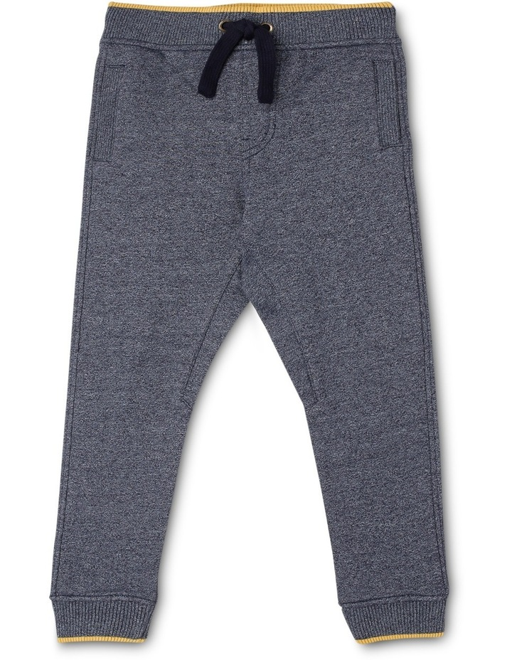 George Fleece Knit Trackpant With Stripe Bands image 1