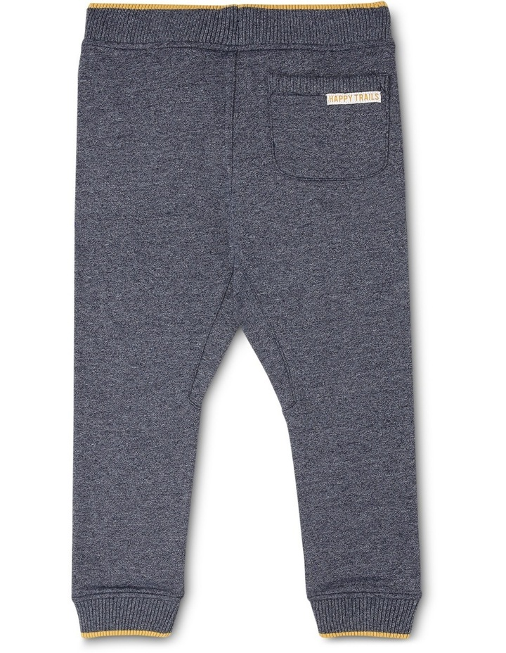 George Fleece Knit Trackpant With Stripe Bands image 2
