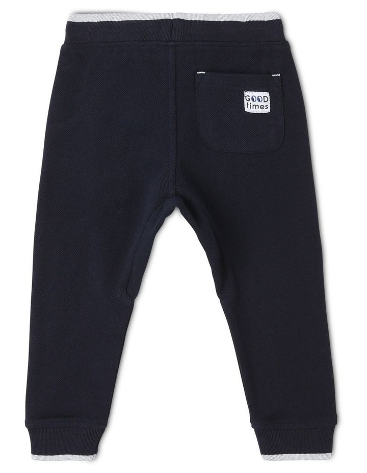 Felix Pique Track Pants with Contrast Tipping image 2