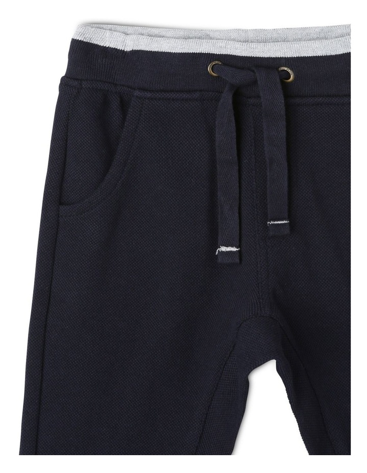 Felix Pique Track Pants with Contrast Tipping image 3