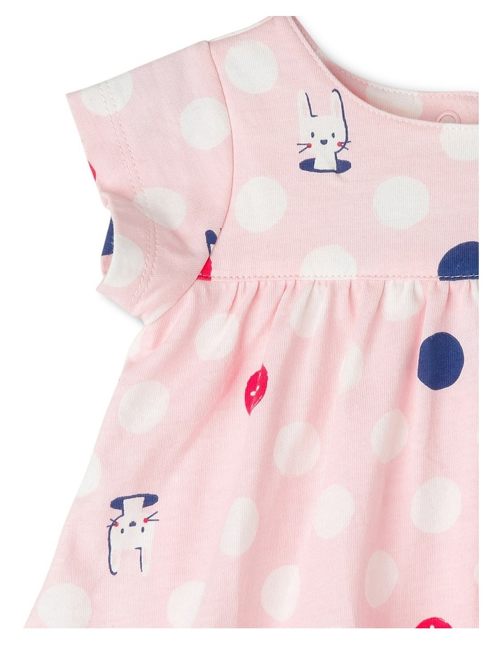 Emily Angel  Knit Romper - Pink Bunny Spot image 2