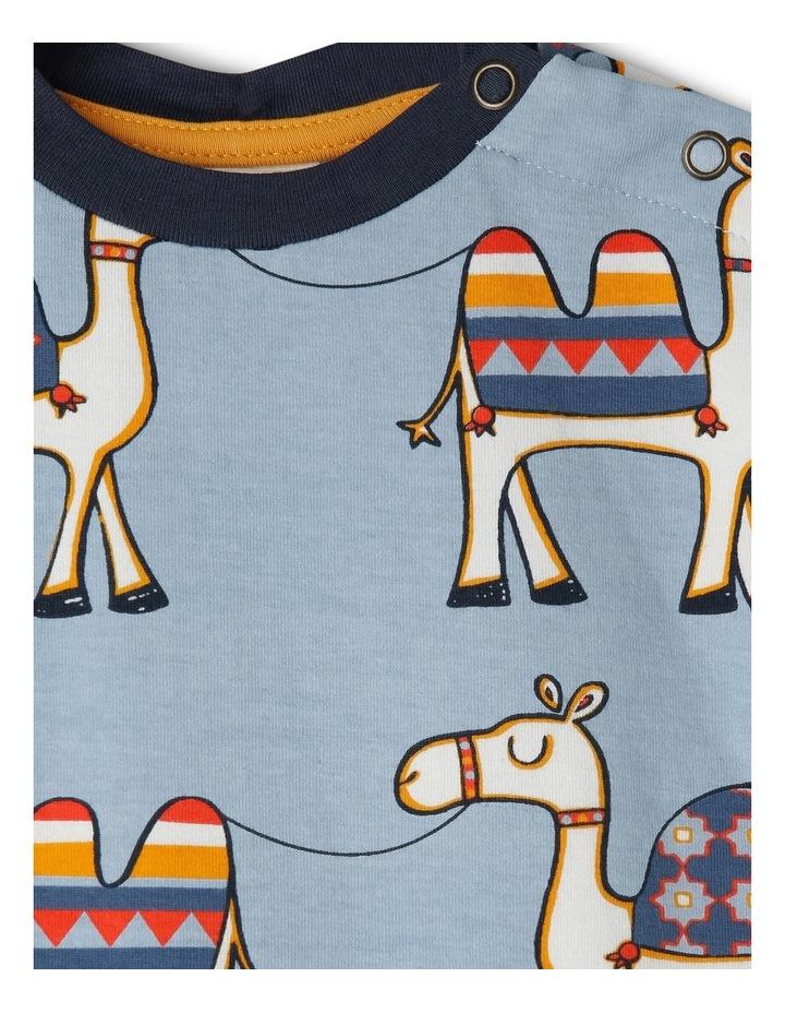 Blue Camel Print Newborn Boys image 2