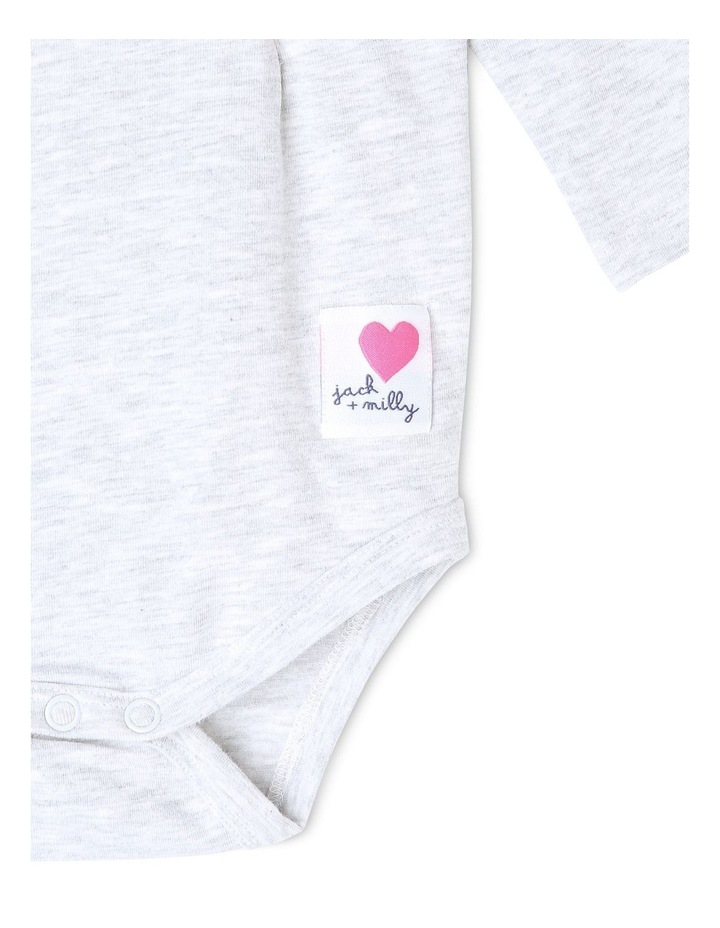 Mia Knit Long Sleeve Bodysuit image 3