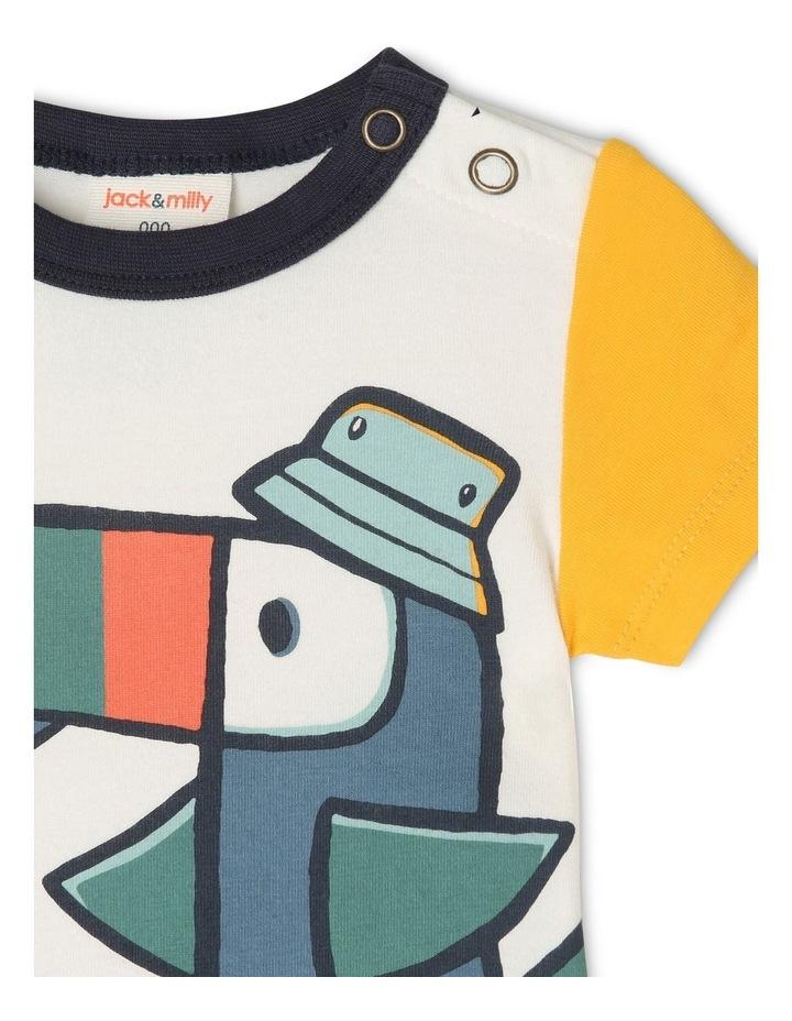 Oscar Short Sleeve Bodysuit image 2