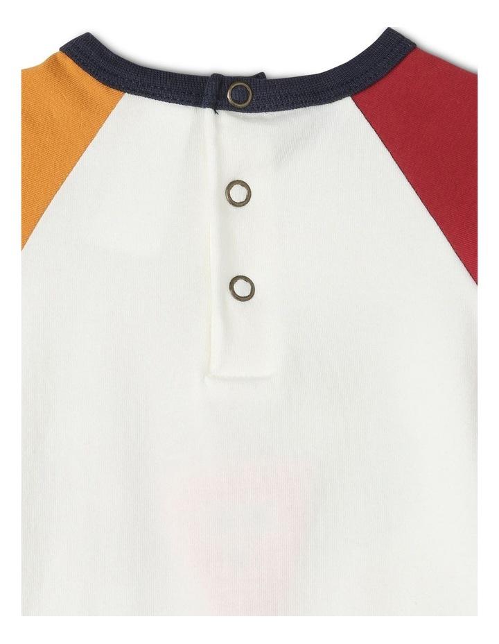 Jimmy Long Sleeve Raglan Bodysuit image 4