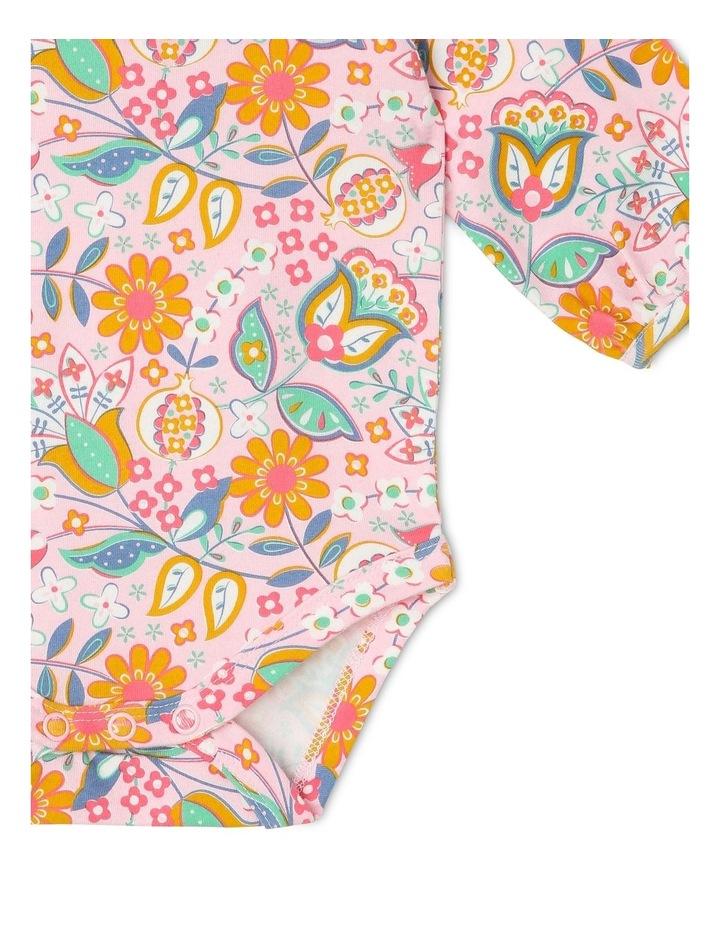 Harriet Long Sleeve Frill Neck Bodysuit image 3
