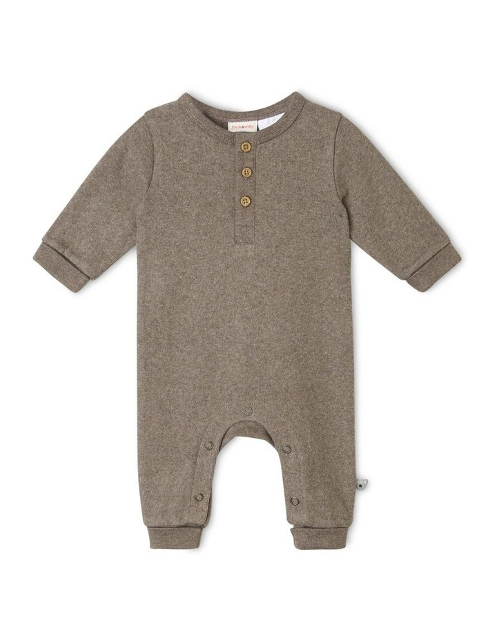 Eden Organic Brushed Rib Coverall image 1