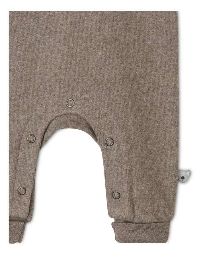 Eden Organic Brushed Rib Coverall image 3