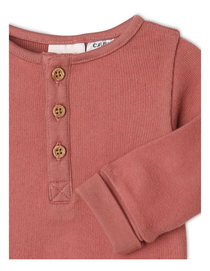 Arki Organic Brushed Rib Bodysuit image 2