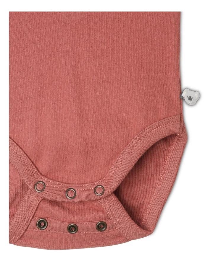 Arki Organic Brushed Rib Bodysuit image 3