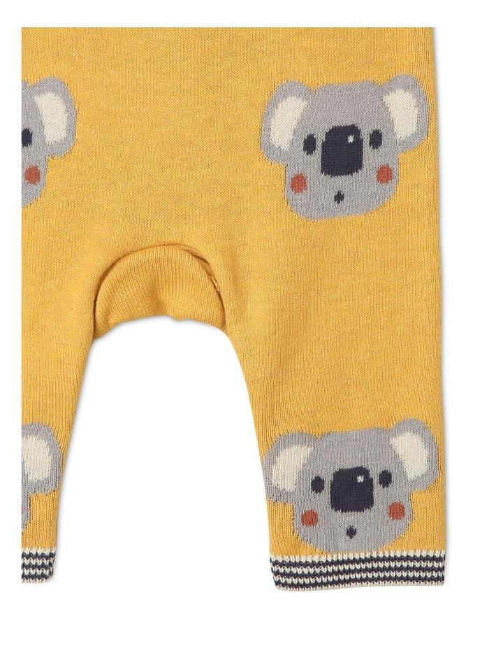 Hugo Knit Coverall with Koala Intarsia image 3