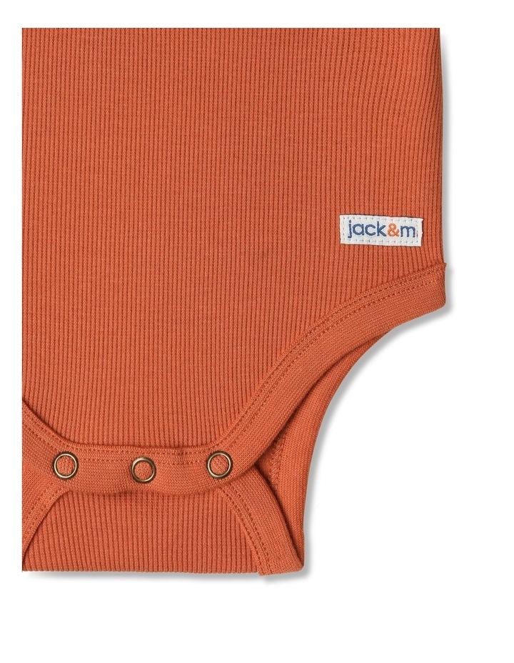 Sparkey Henley Rib Bodysuit image 3