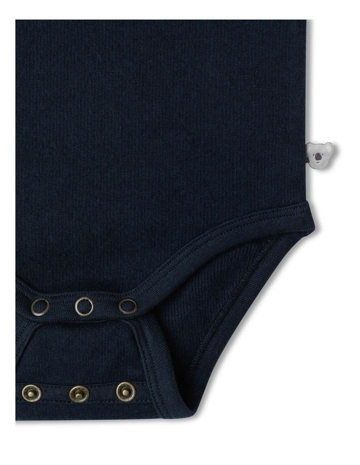 Naturals Organic Rib Bodysuit image 3