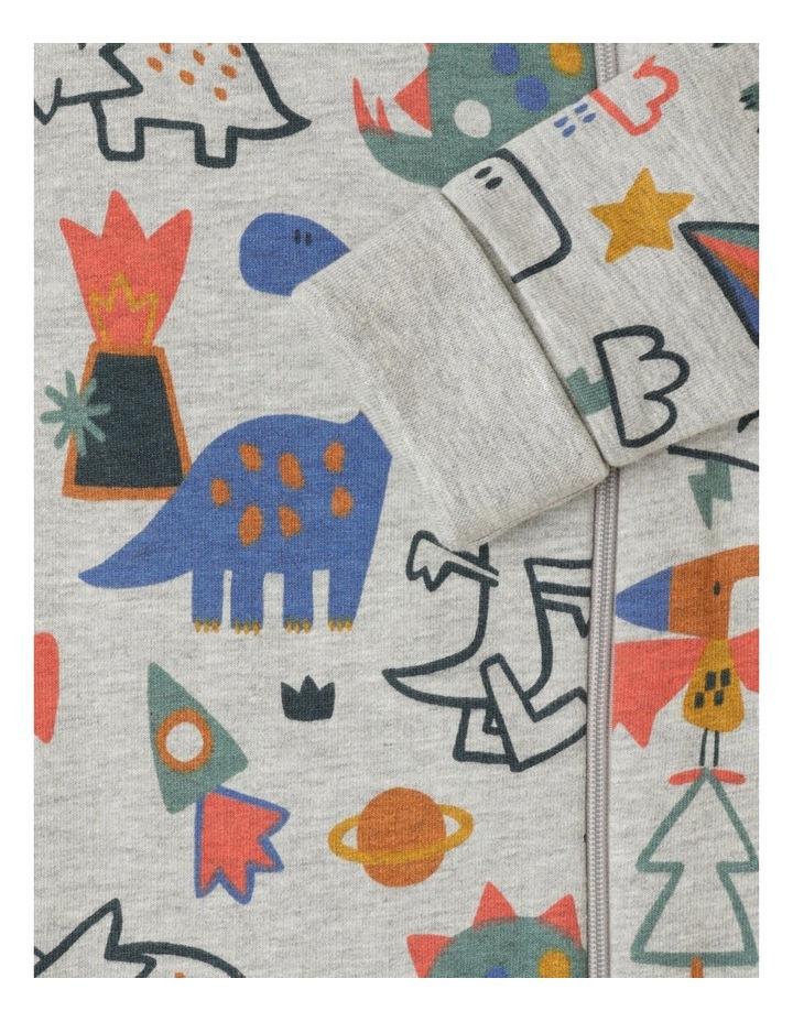 Harry Organic Fleece Coverall With Zip Opening image 3