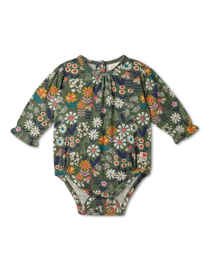 Lola Long-Sleeve Organic Knit Bodysuit image 1
