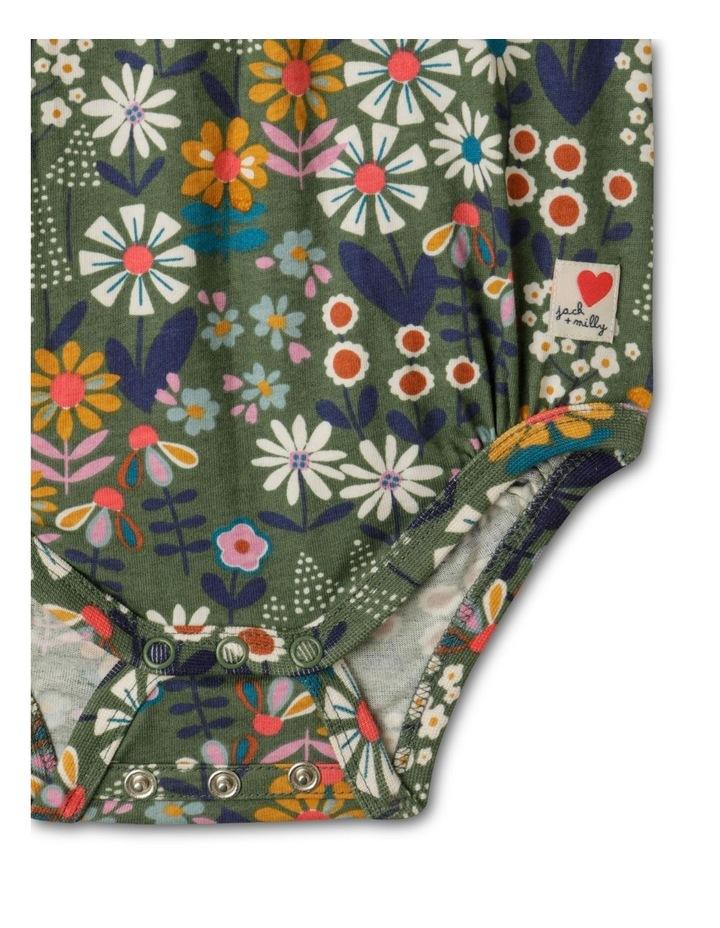 Lola Long-Sleeve Organic Knit Bodysuit image 2