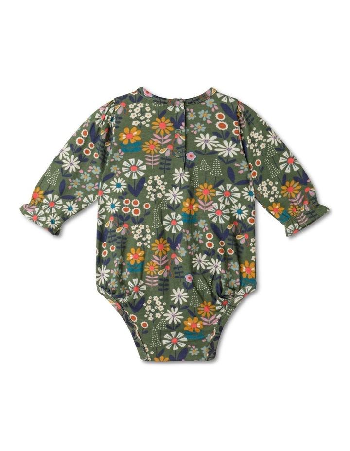 Lola Long-Sleeve Organic Knit Bodysuit image 5