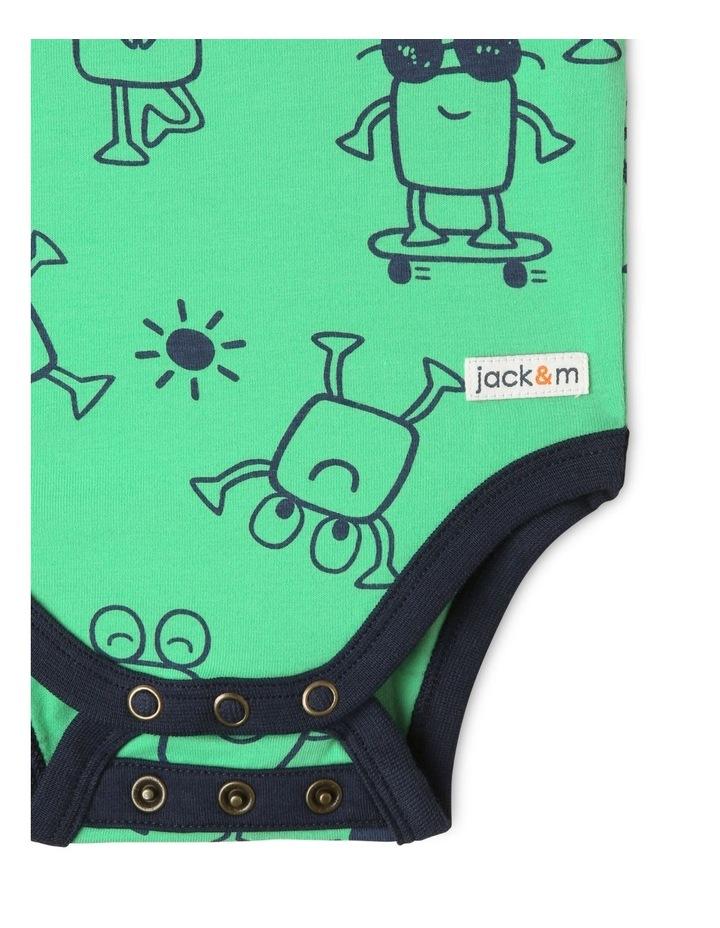 Oscar Bodysuit Green image 4