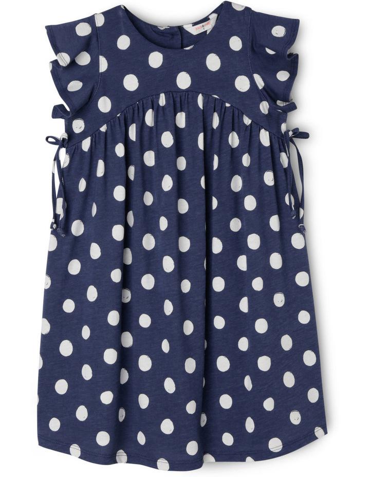 Dotty Painted Spot Knit Dress image 1
