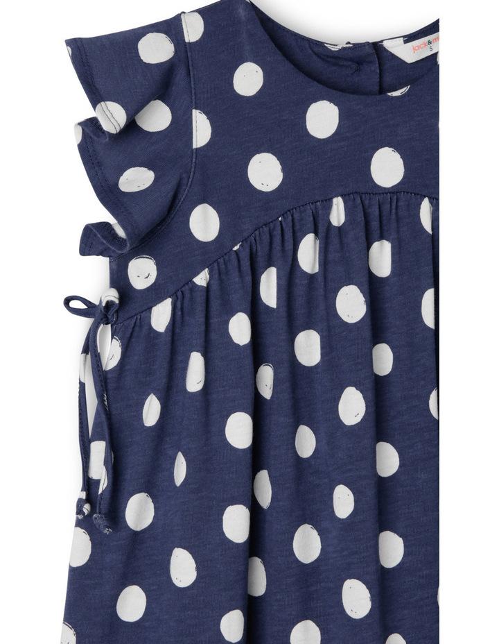 Dotty Painted Spot Knit Dress image 3