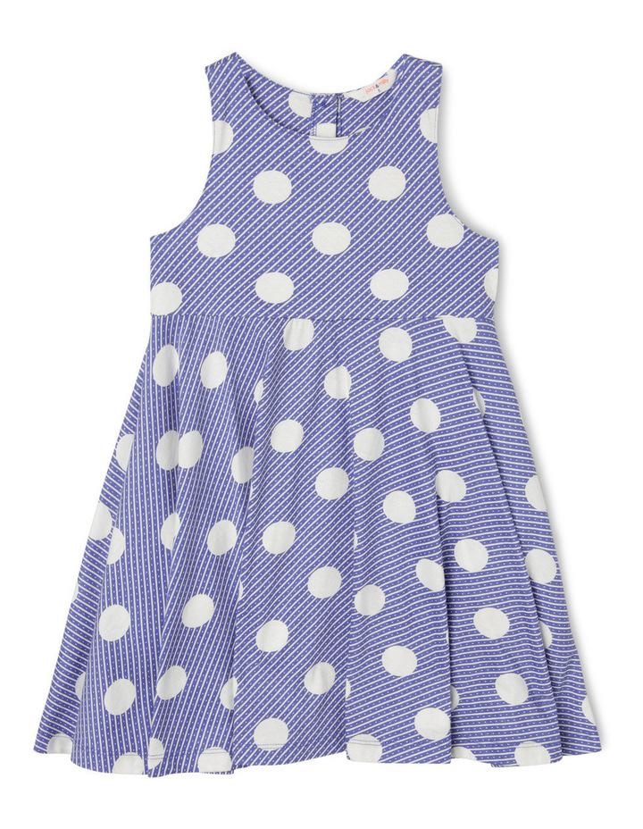 Arki Knit Dress With Circle Skirt image 1