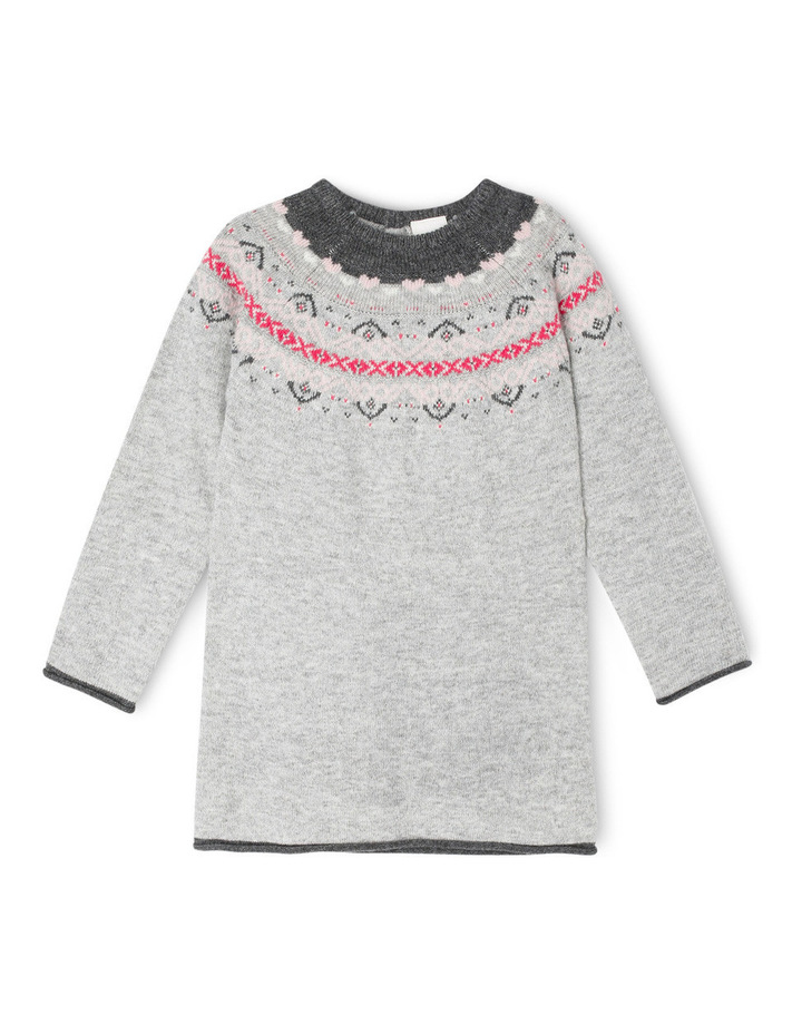 Maddie Long Sleeve Knit Dress image 1