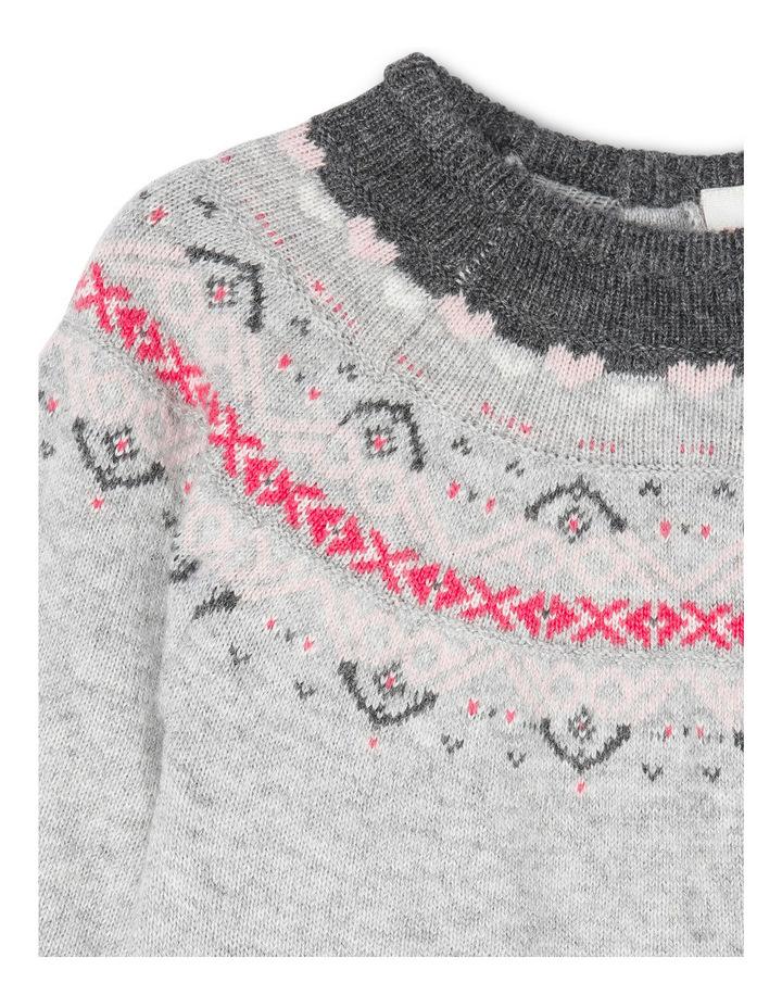 Maddie Long Sleeve Knit Dress image 2