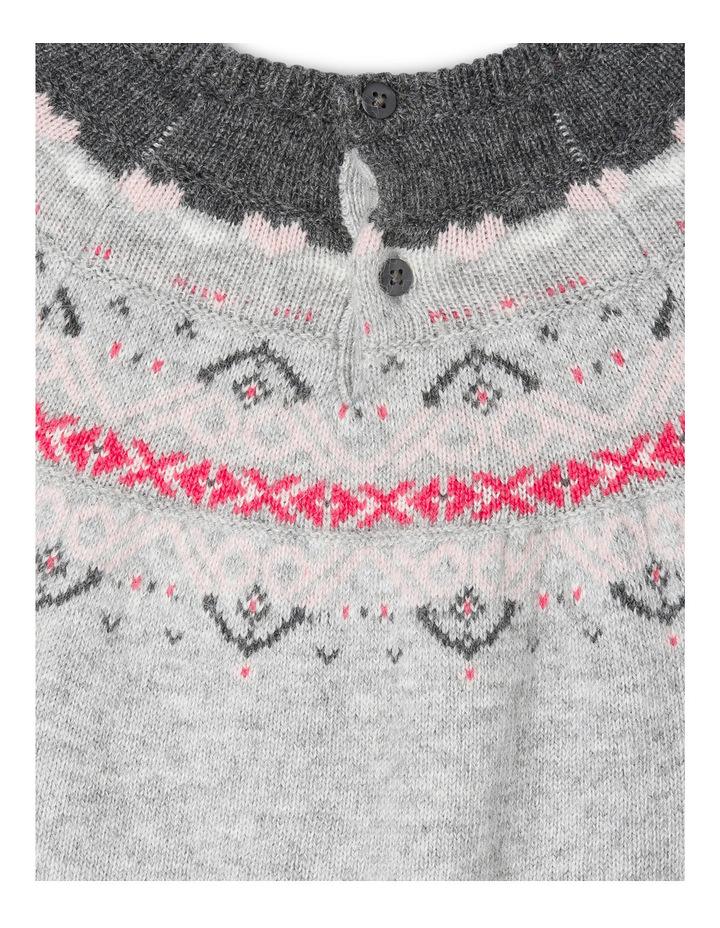 Maddie Long Sleeve Knit Dress image 3